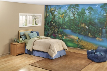 Exceptional Jungle Dreams Wall Mural C829 ROOMSETTING Part 6