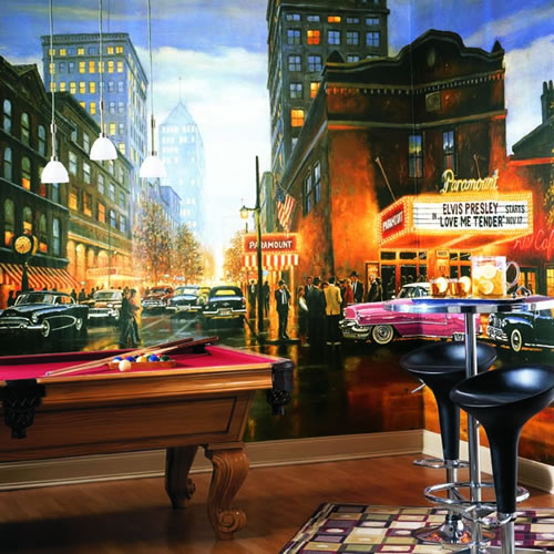 Evening At The Paramount Wall Mural Ra0100m By York