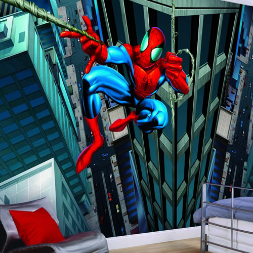 Spiderman Wall Mural by York