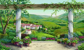 Italian Scenes Wall Murals
