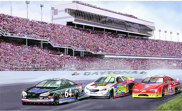 Lovely Daytona Raceway Wall Mural Part 16